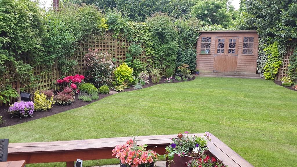 Southgate garden makeover after 2
