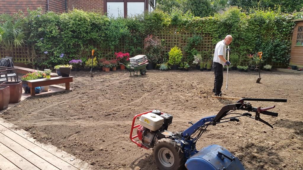 Southgate garden makeover before 2