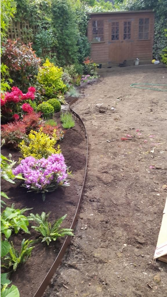 Southgate garden makeover before